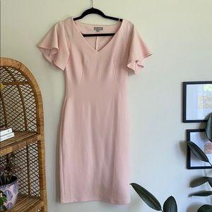 Light pink midi dress from ASOS
